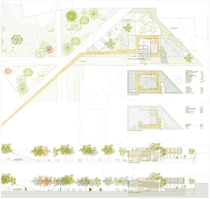 barrio + balmaseda arquitectos. padiglione infanzia milano_plantas.mas verde
