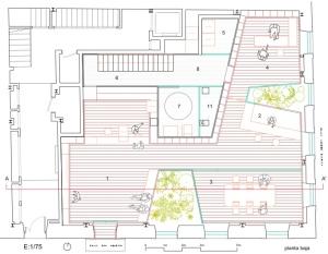 planta-baja_arquia gijon_ barrio + balmaseda-arquitectura