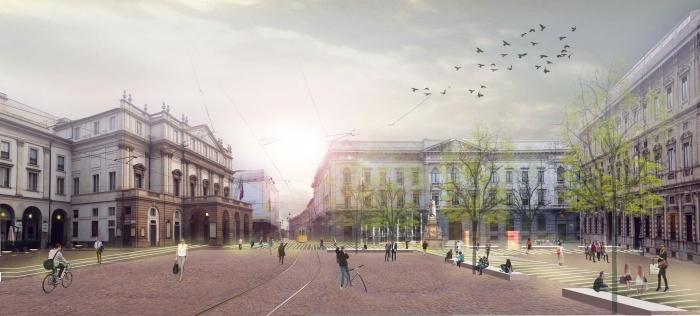 barrio+balmaseda_Piazza della Scala Milano_imagen