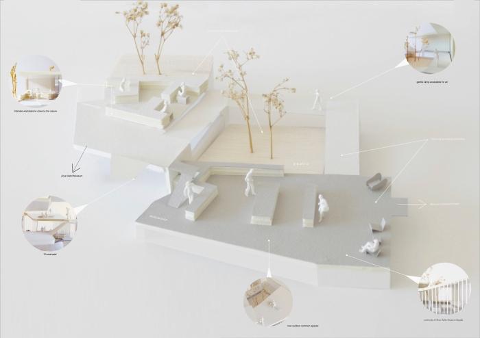 BarrioBalmaseda_Alvar Aalto Competition_model 2